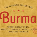 Burma Sans Serif Font Family
