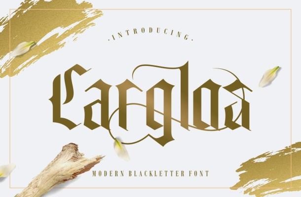 Carglos Blackletter Font