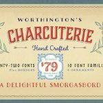 Charcuterie Collection Serif Font