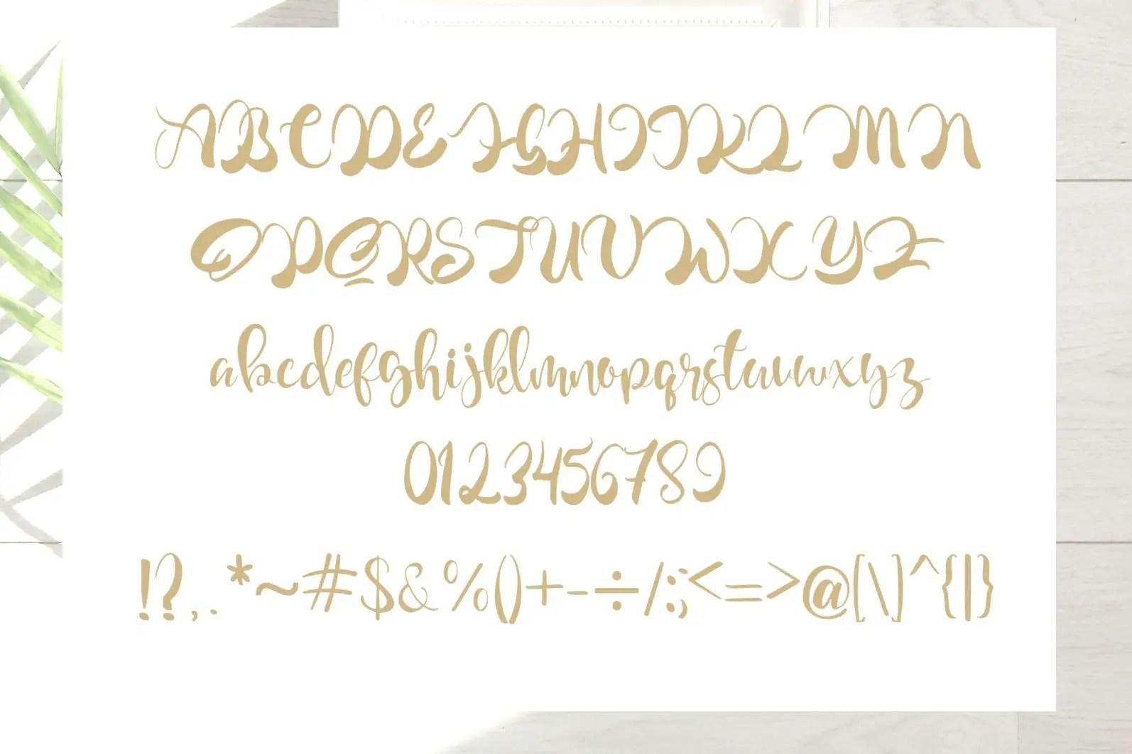 Crailova Script Handwritten Font-3