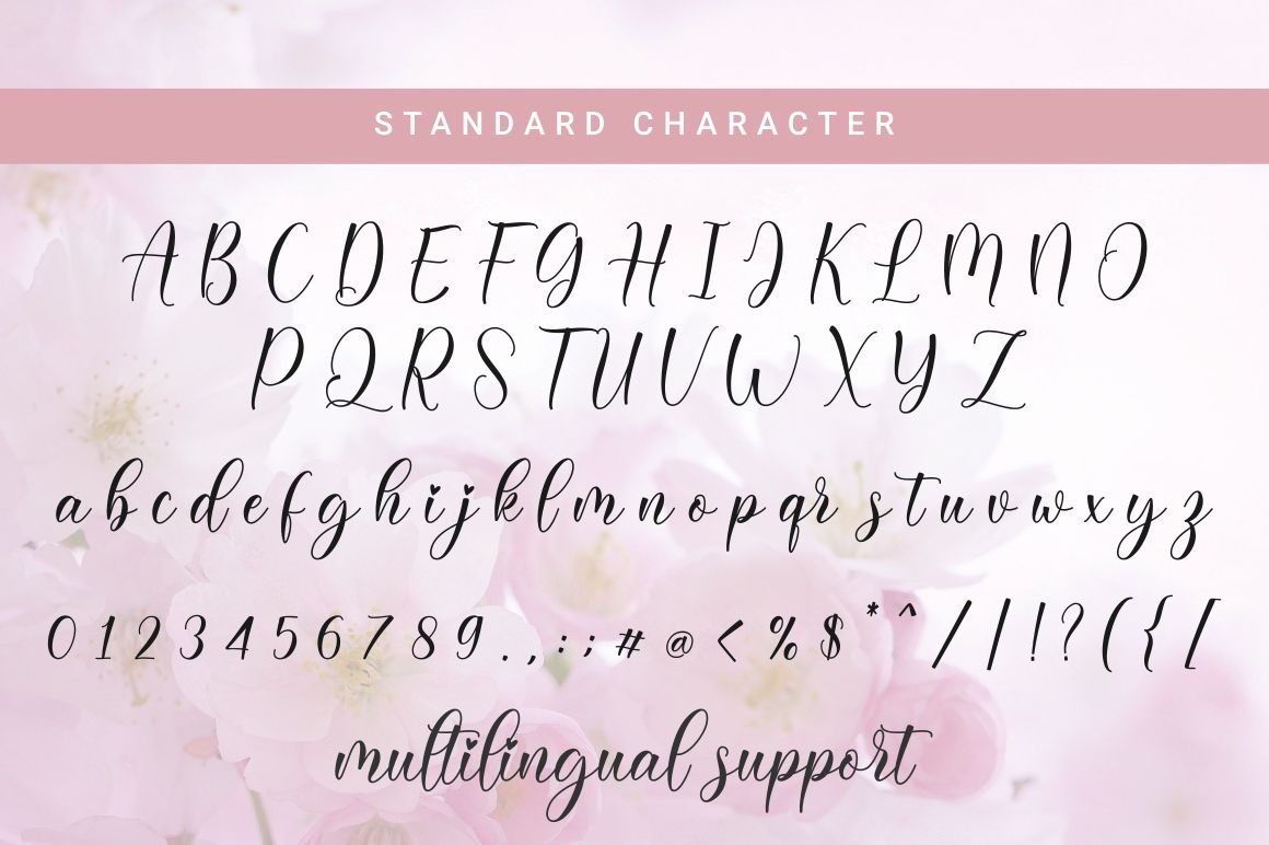Daligona Calligraphy Script Font-3