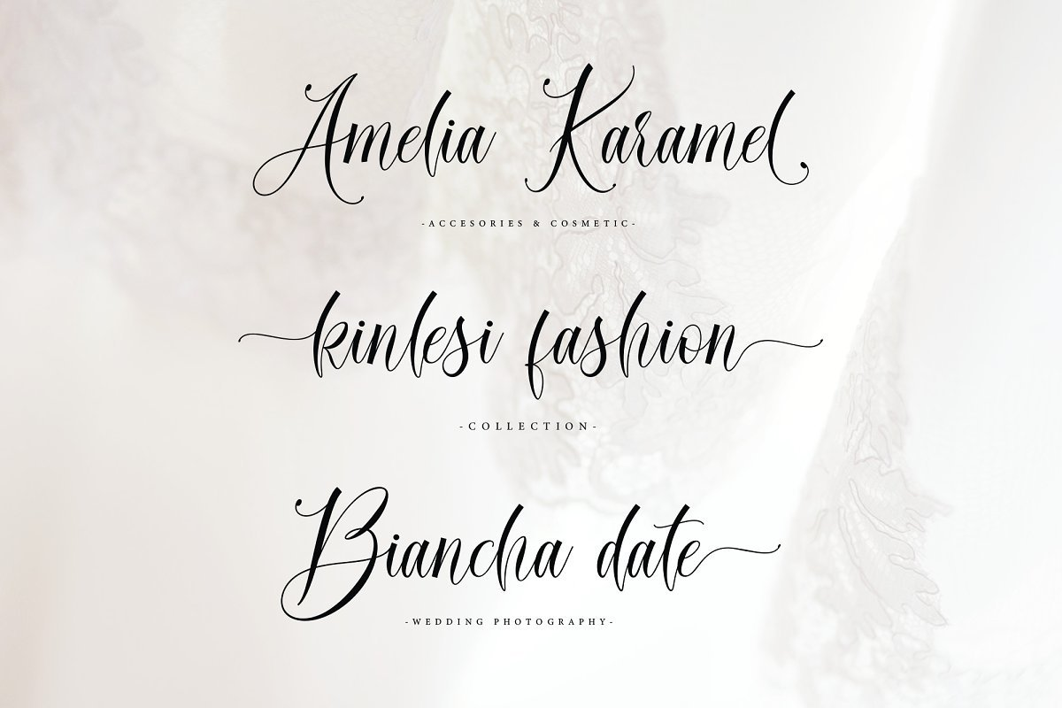 Daniella Script Calligraphy Font-2