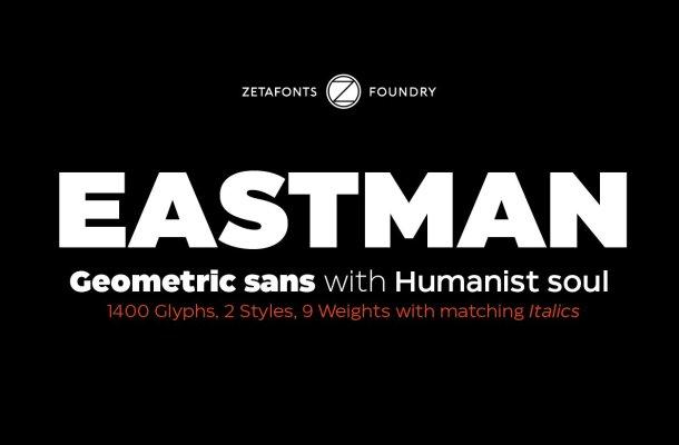 Eastman Sans Serif Font Family