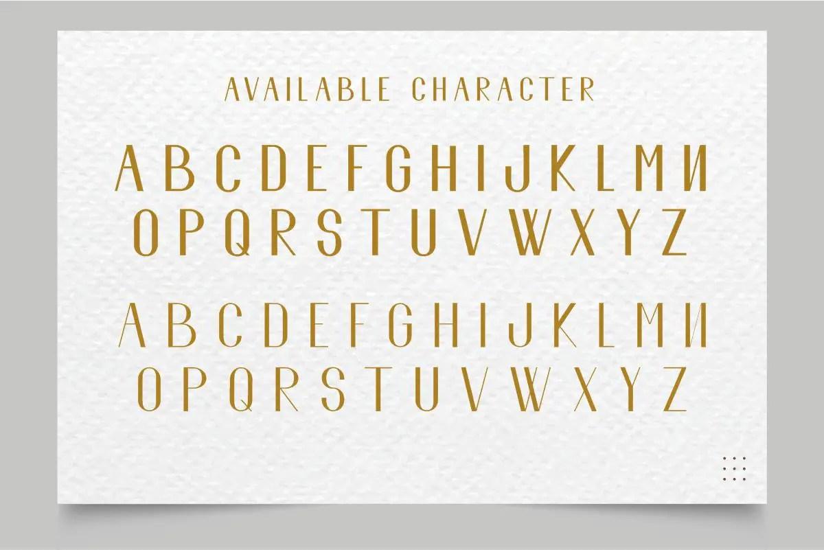 El Fonte Sans Serif Elegant Typeface-3