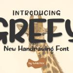 Grefy Display Font