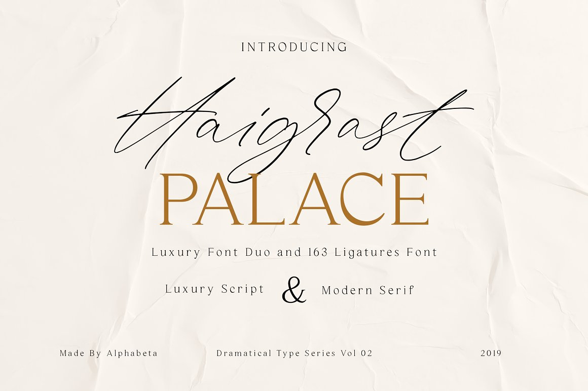 Haigrast Script Serif Font Duo-1