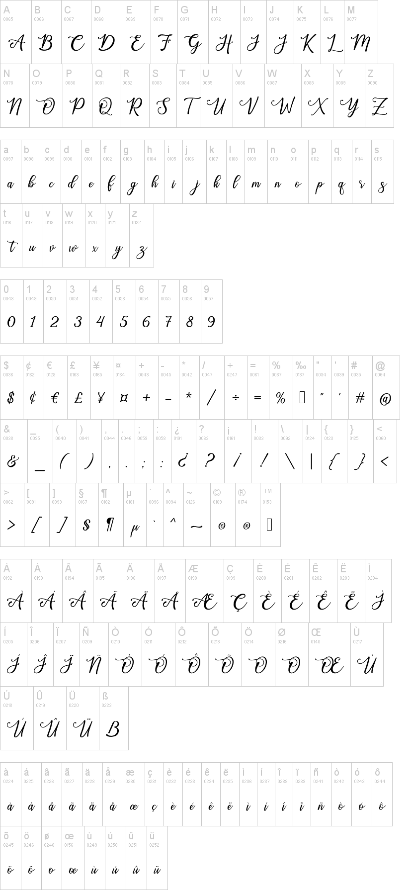 Happy Birthday Calligraphy Script Font-2