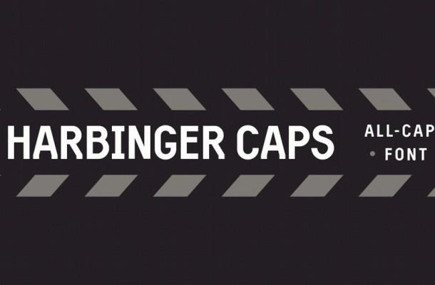 Harbinger Caps Sans Serif Font