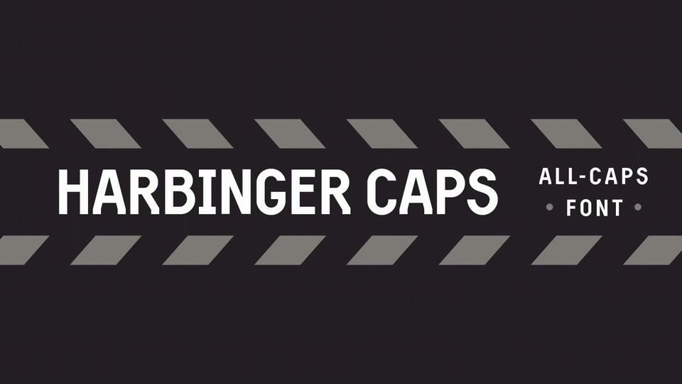 Harbinger Caps Sans Serif Font-1