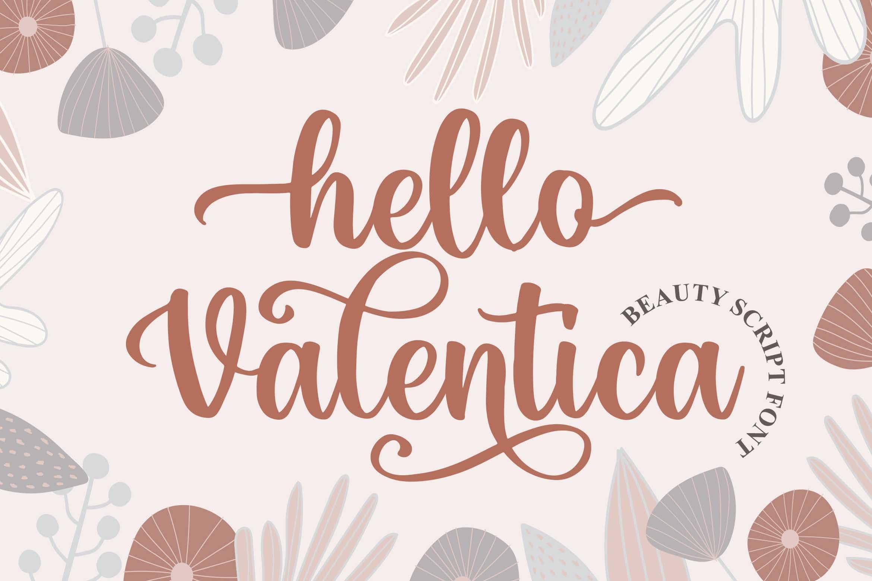 Hello Valentica a Beauty Calligraphy Script Font-1