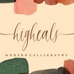 Higheals Calligraphy Script Font