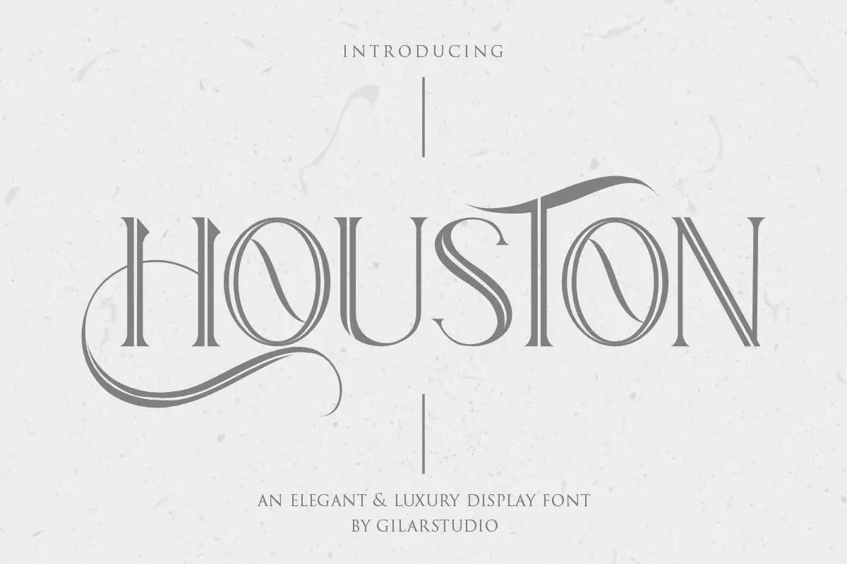 Houston Serif Font-1