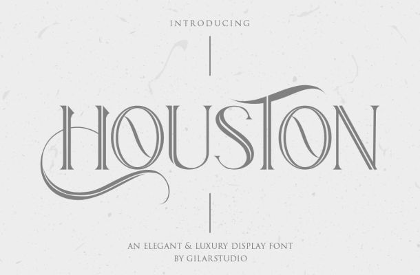 Houston Serif Font