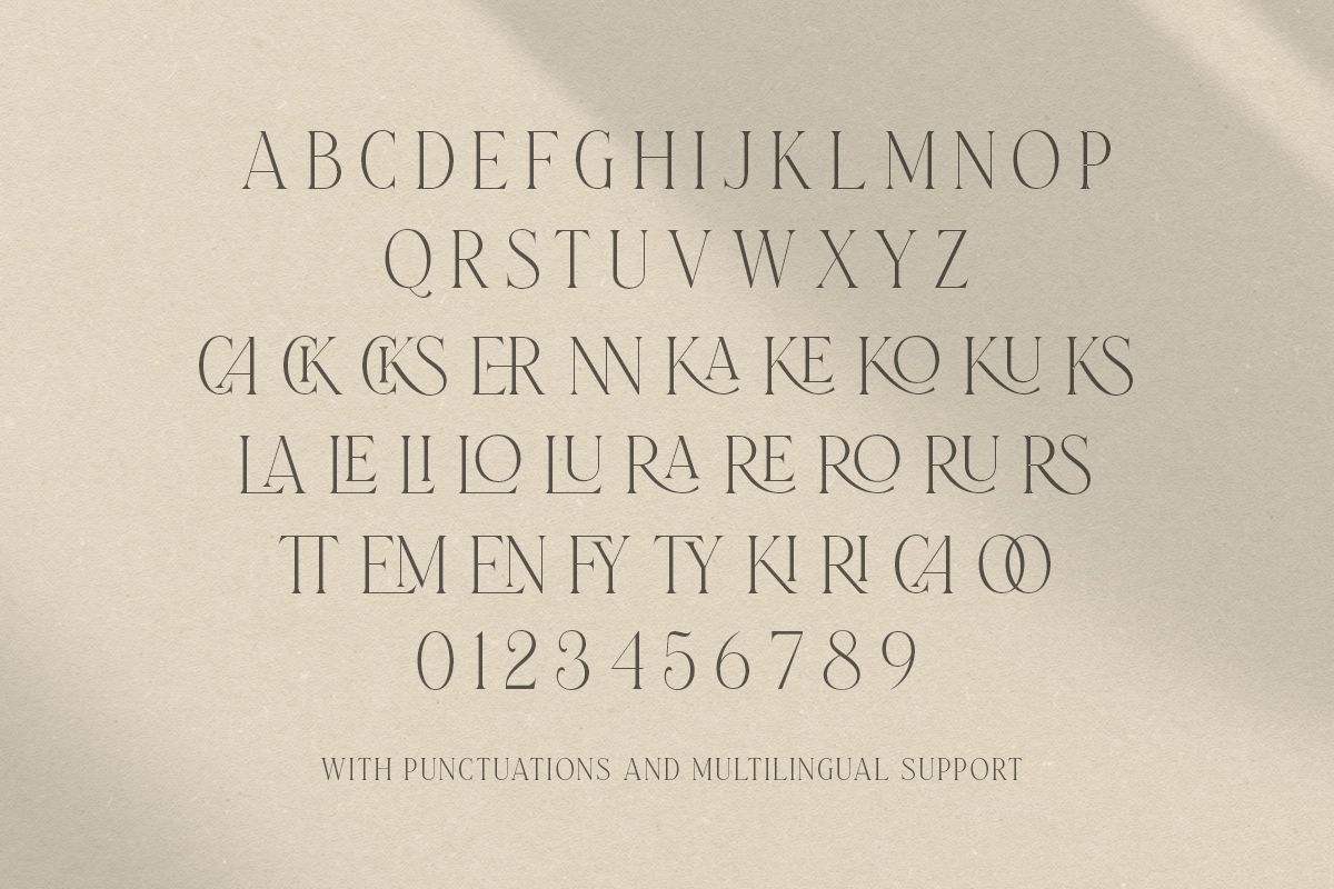 Laterlocks Serif Font-3