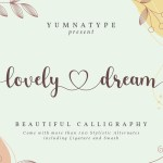Lovely Dream Beautiful Calligraphy Font