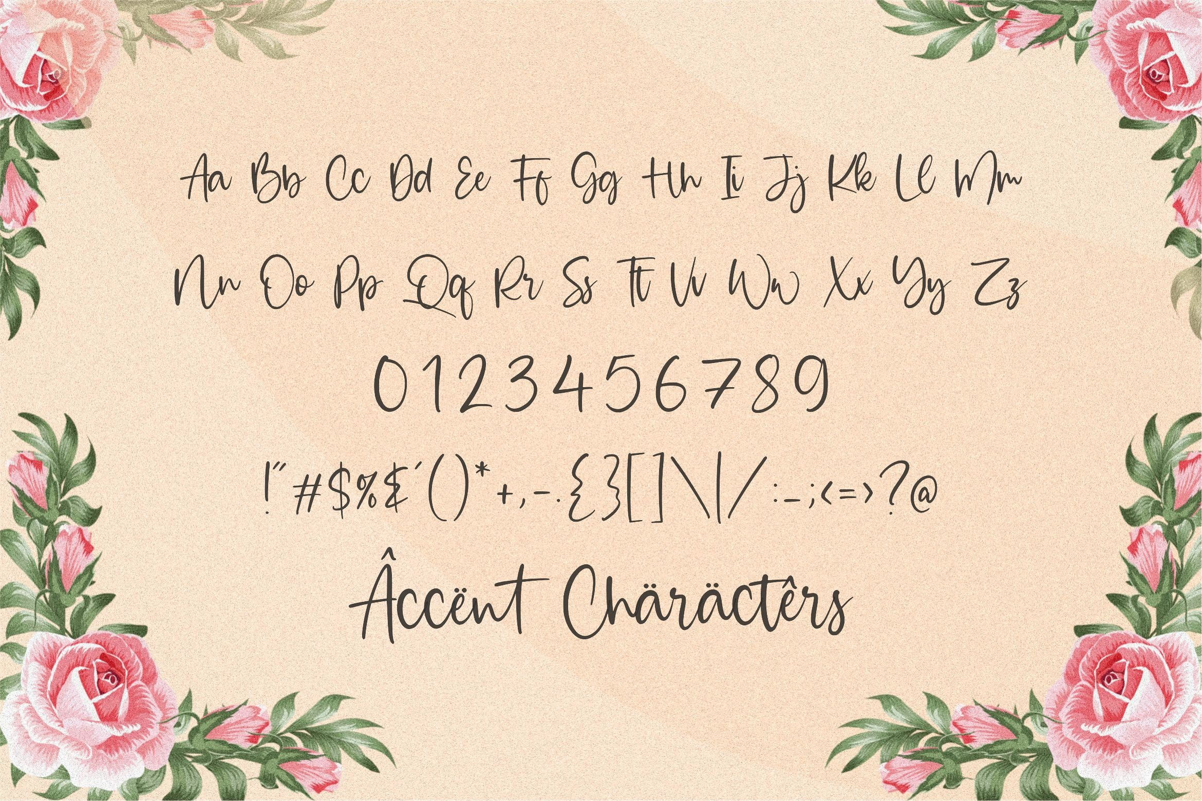 Majestic Bubble Handwritten Font-3
