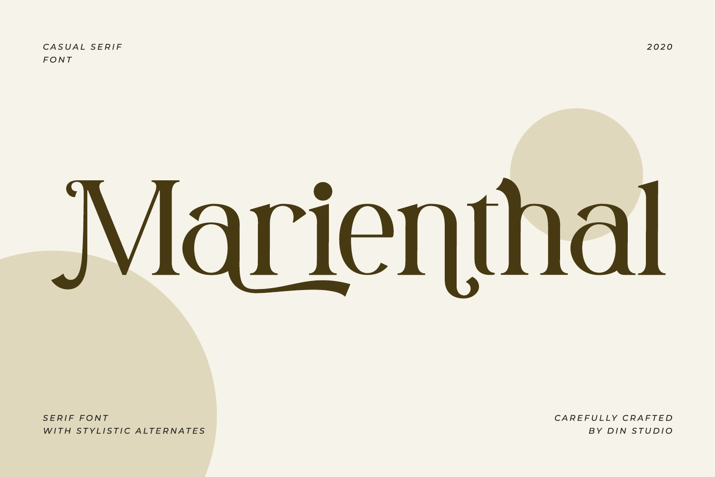 Marienthal Casual Serif Font