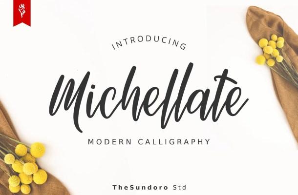 Michellate Handwritten Script Font