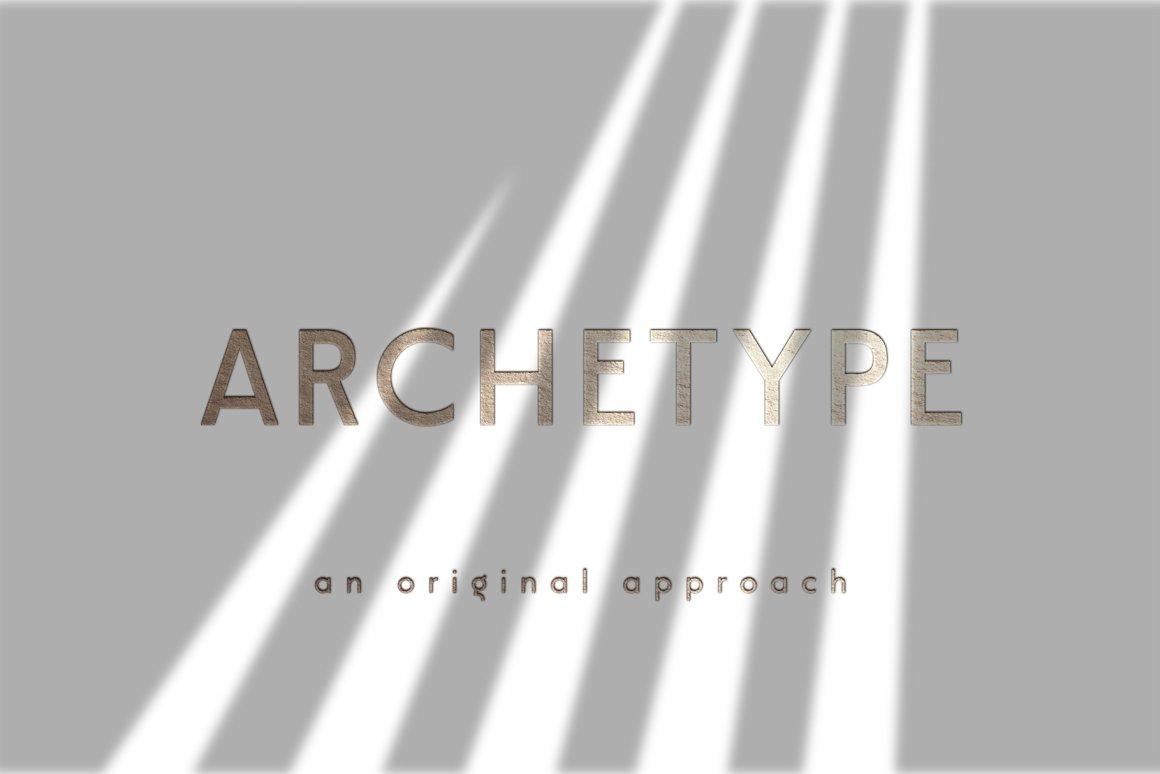 Modeco Art Deco Geometric Sans Font-2