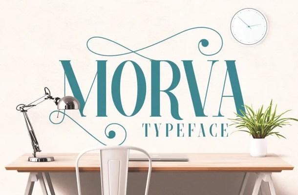 Morva Typeface Serif Font