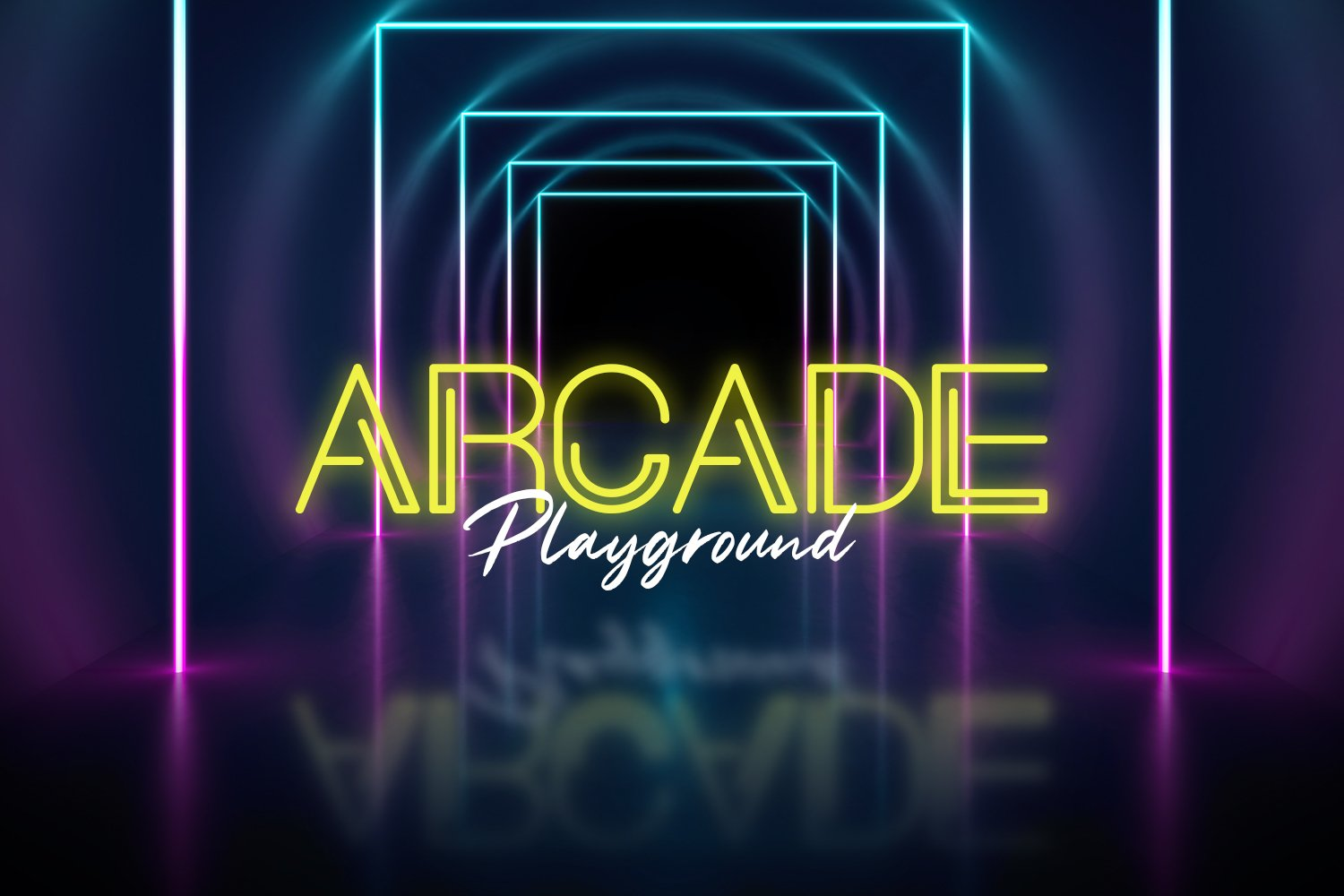 Neon Planet Display Personal Us Font-2