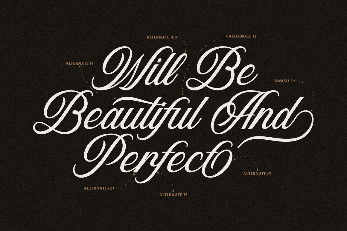 Nolian Script Typeface-3