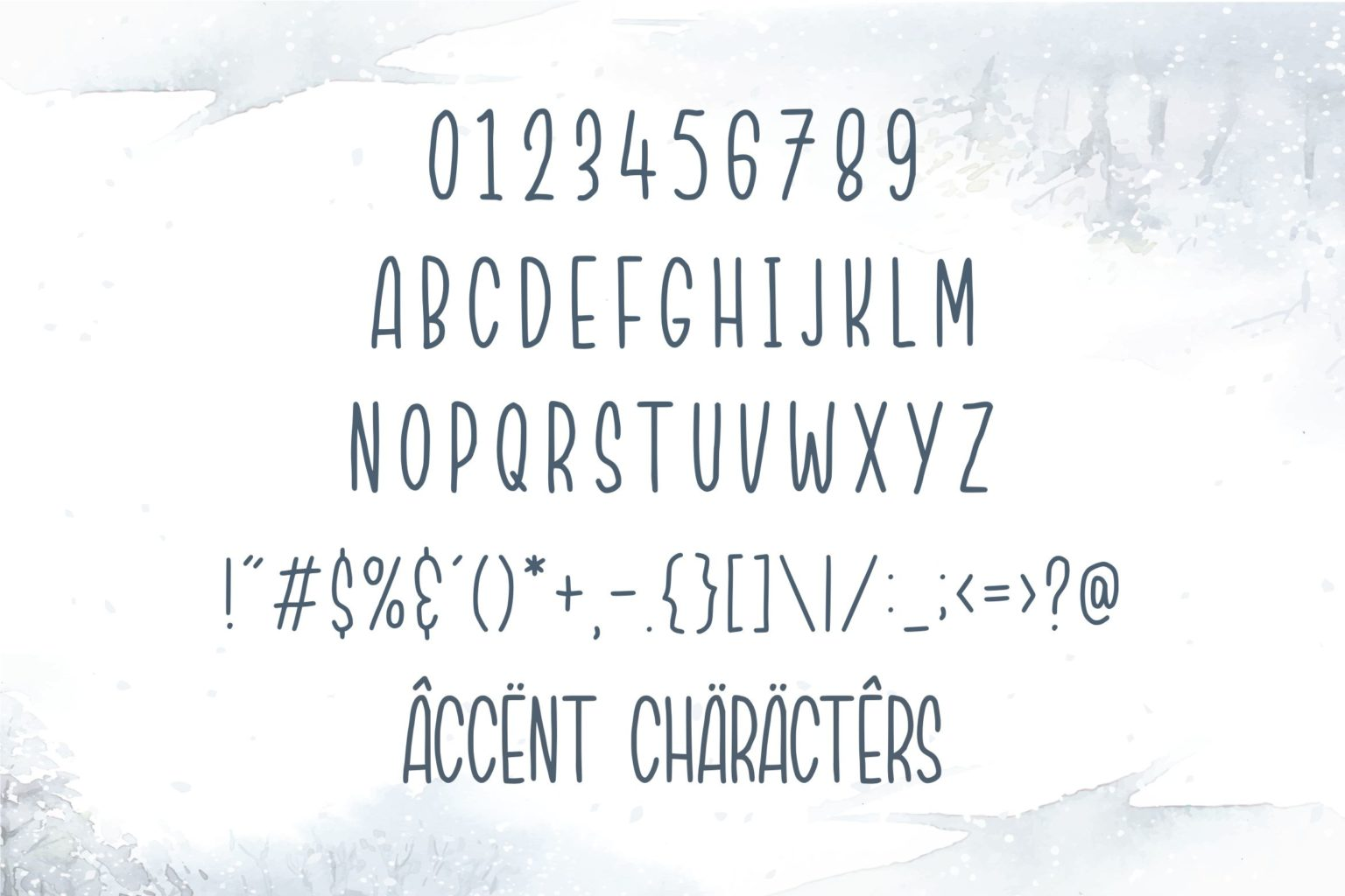 Northwood Quirky Handwritten Font-3