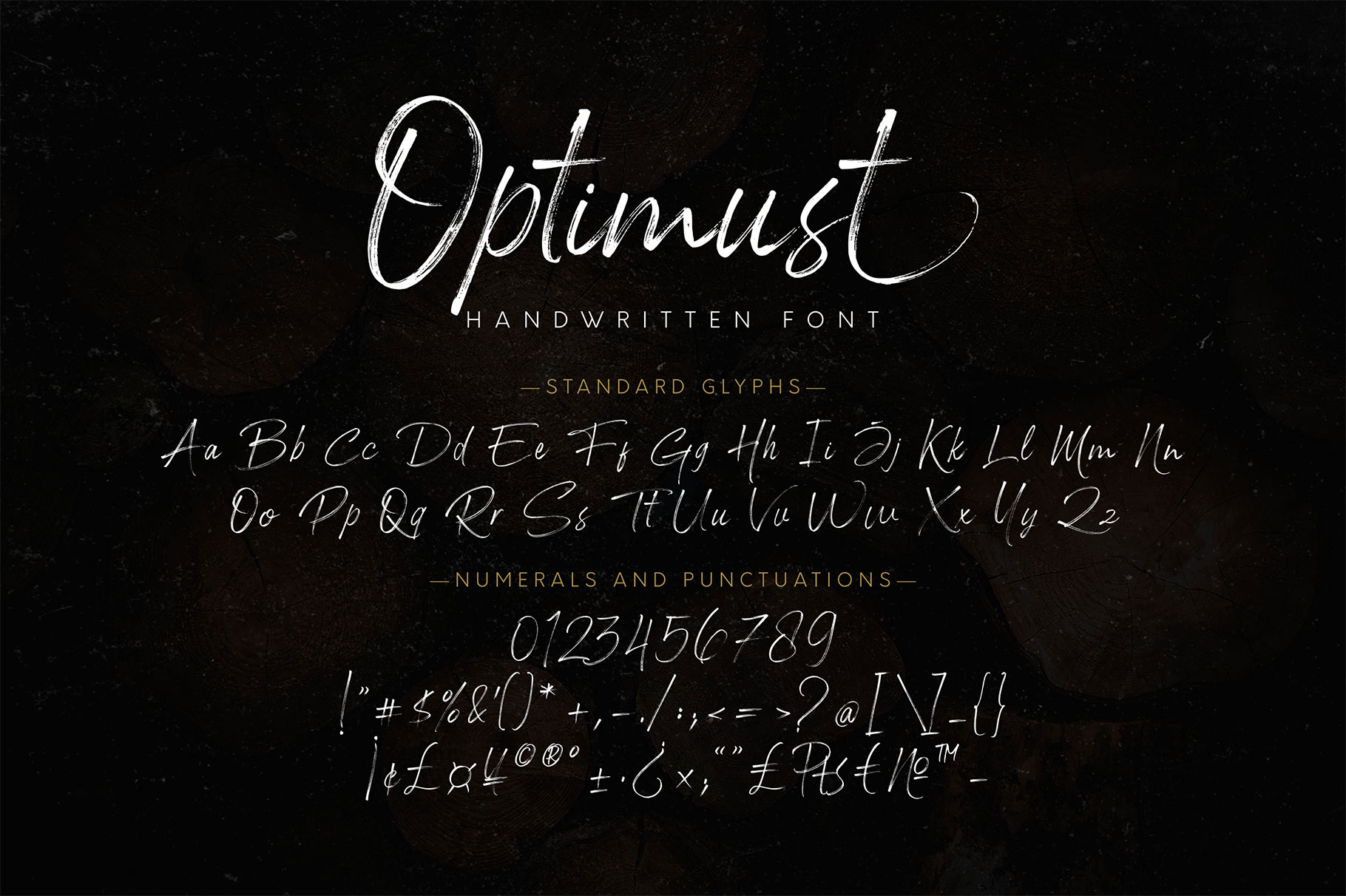 Optimust Brush Script Font-3