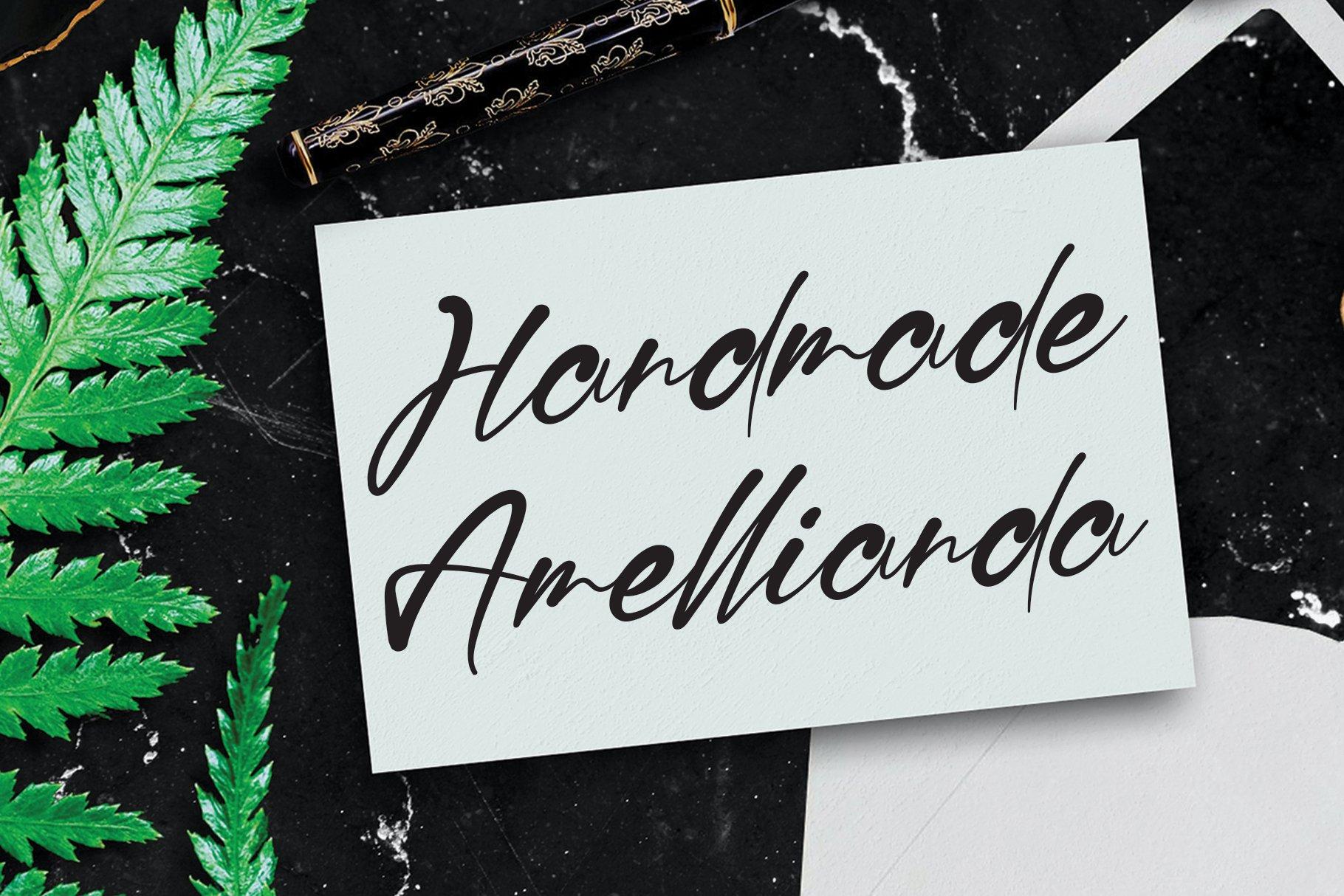 Ragellia Mellinda Handwritten Script Font-2
