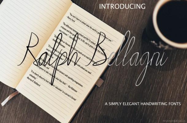 Ralph Bellagni Script Font