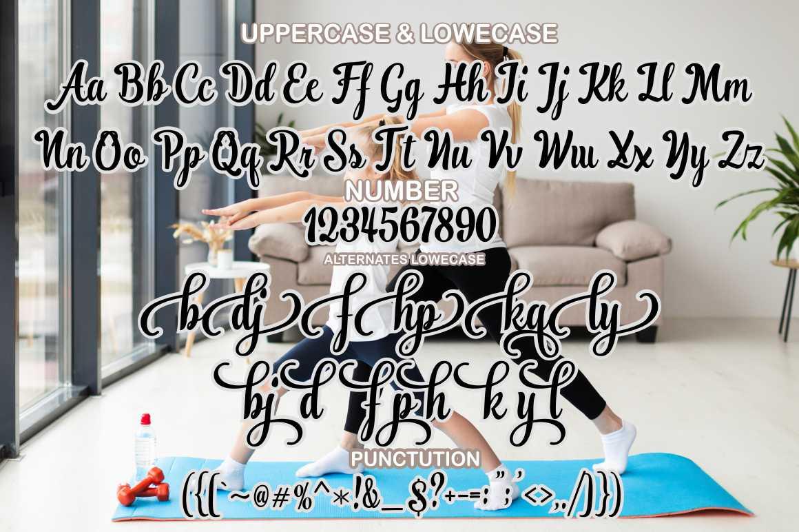 Ranykinaya Calligraphy Script Font-3