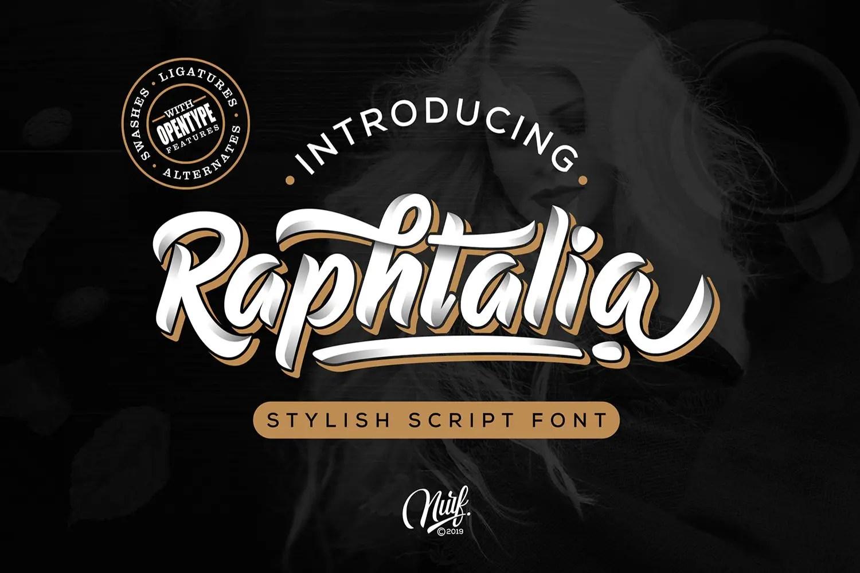Raphtalia Stylish Script Font-1
