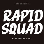 Rapid Squad Display Font