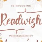 Readwish Calligraphy Script Font