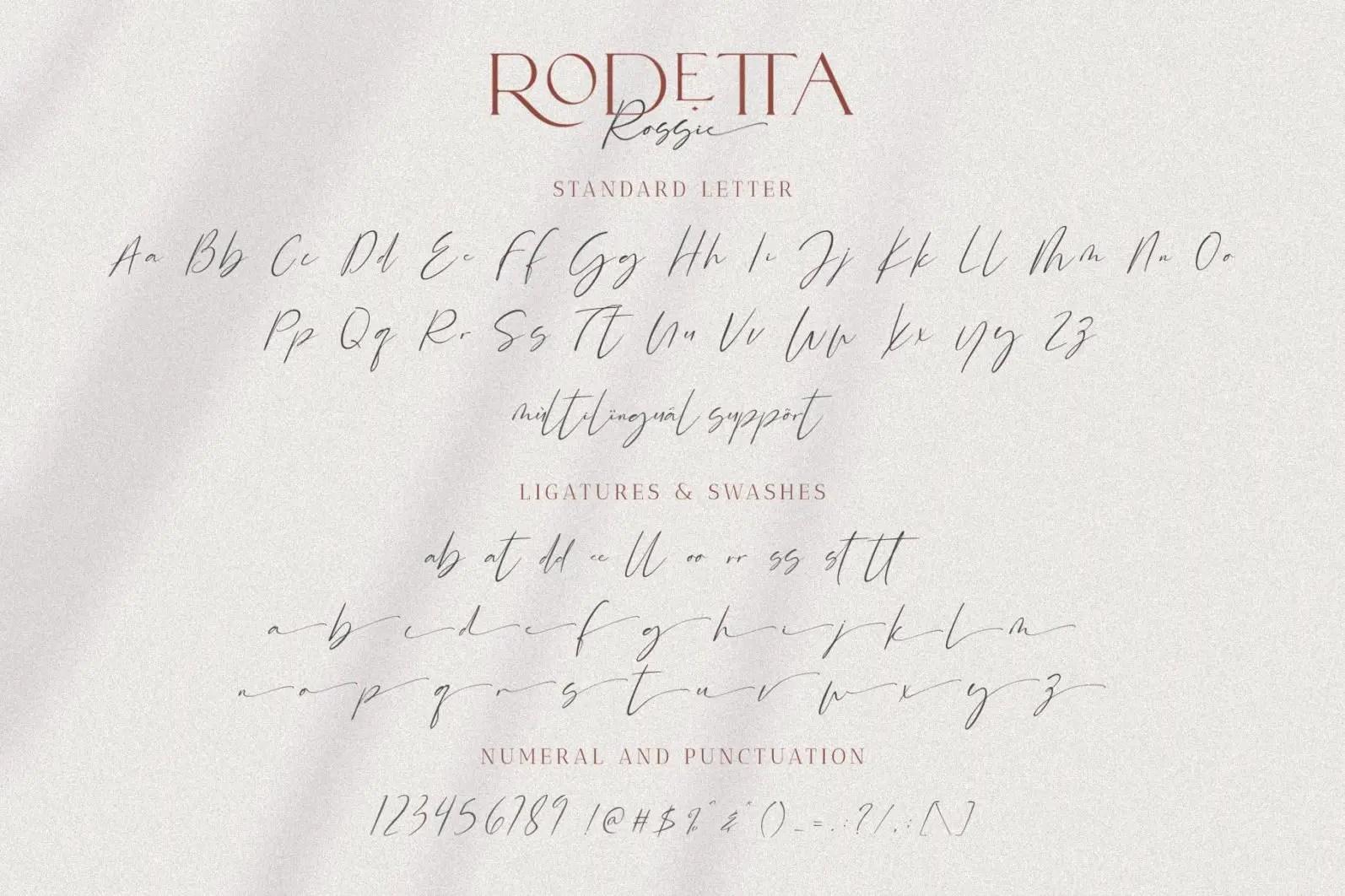 Rodetta Rossie Serif Font-4