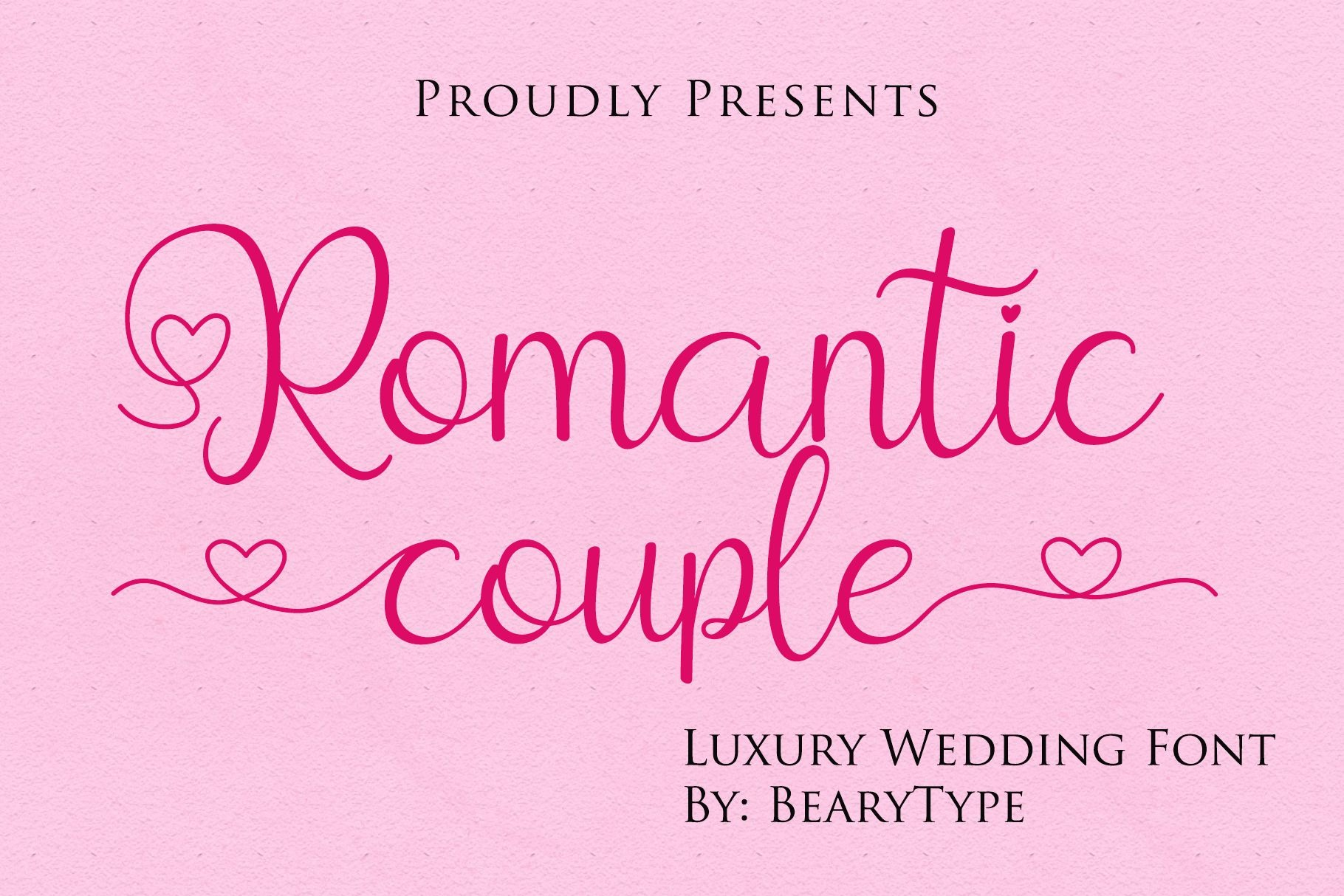 Romantic Couple Handwritten Script Font-1