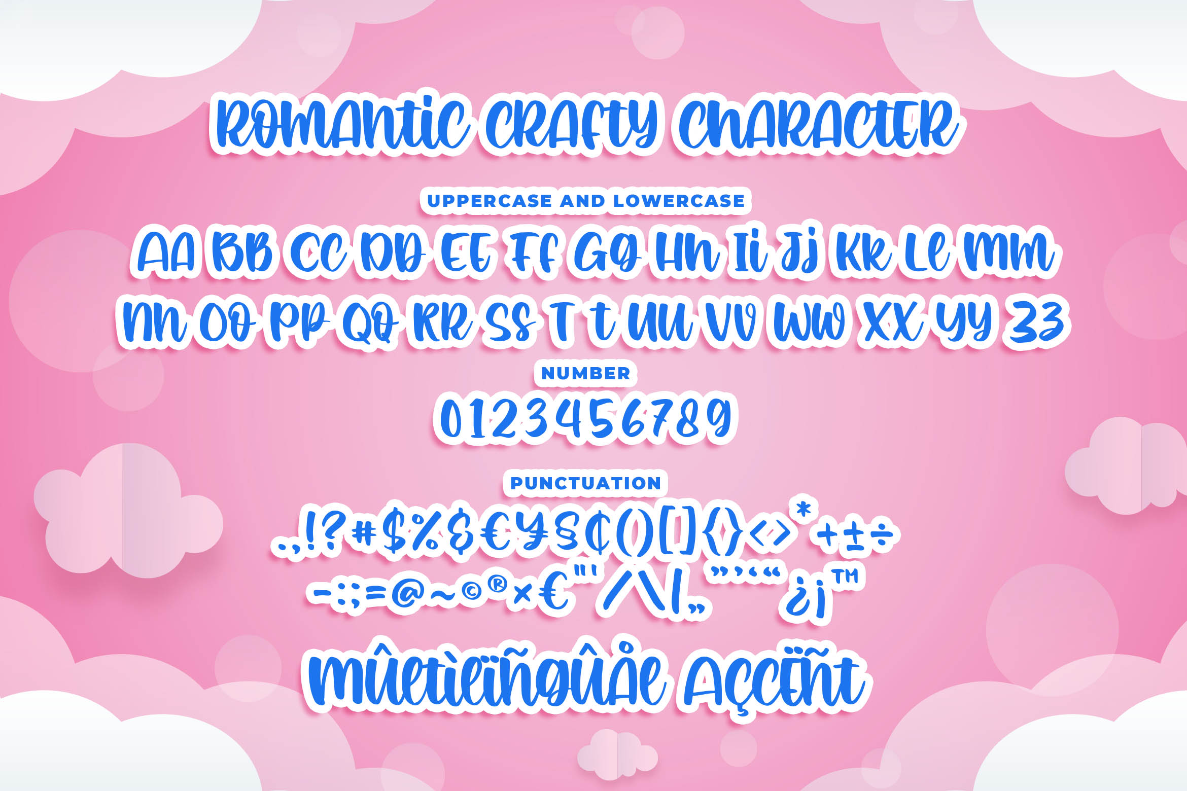 Romantic Crafty Quirky Display Font-3