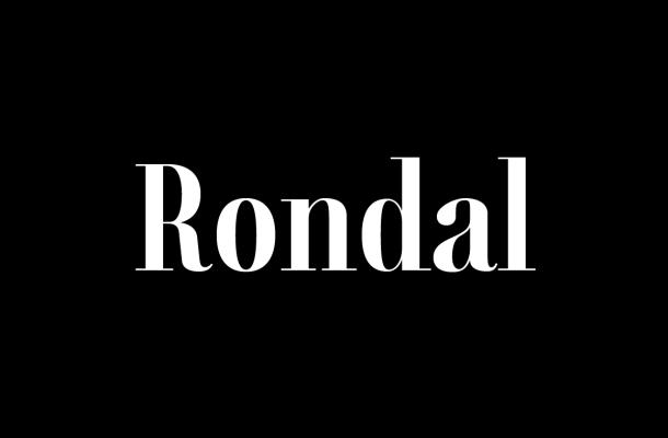 Rondal Modern Serif Font Family
