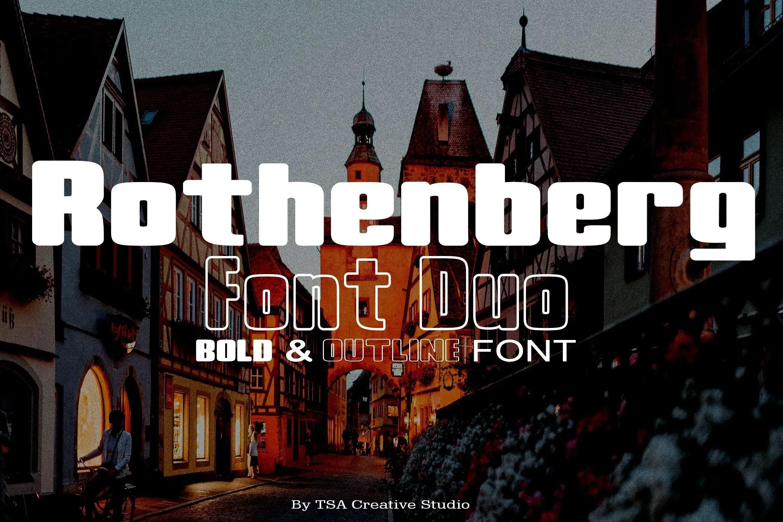 Rothenberg Bold Sans Serif Font-1 (1)