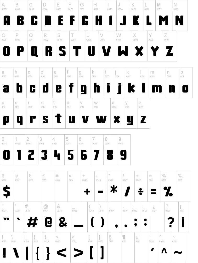 Rothenberg Bold Sans Serif Font-3