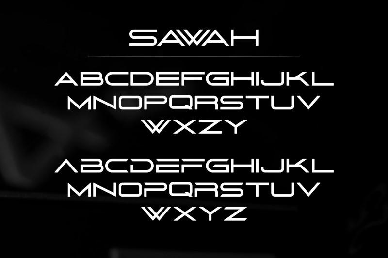 Sawah Elegant Sans Serif Font-3