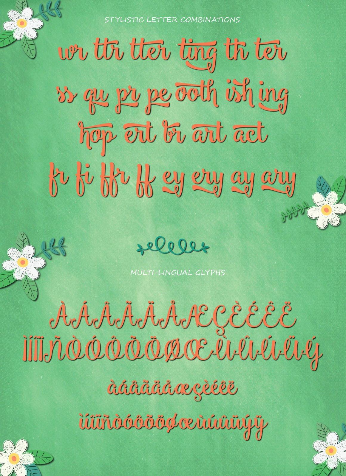 Smoothie Shoppe Script Font-2
