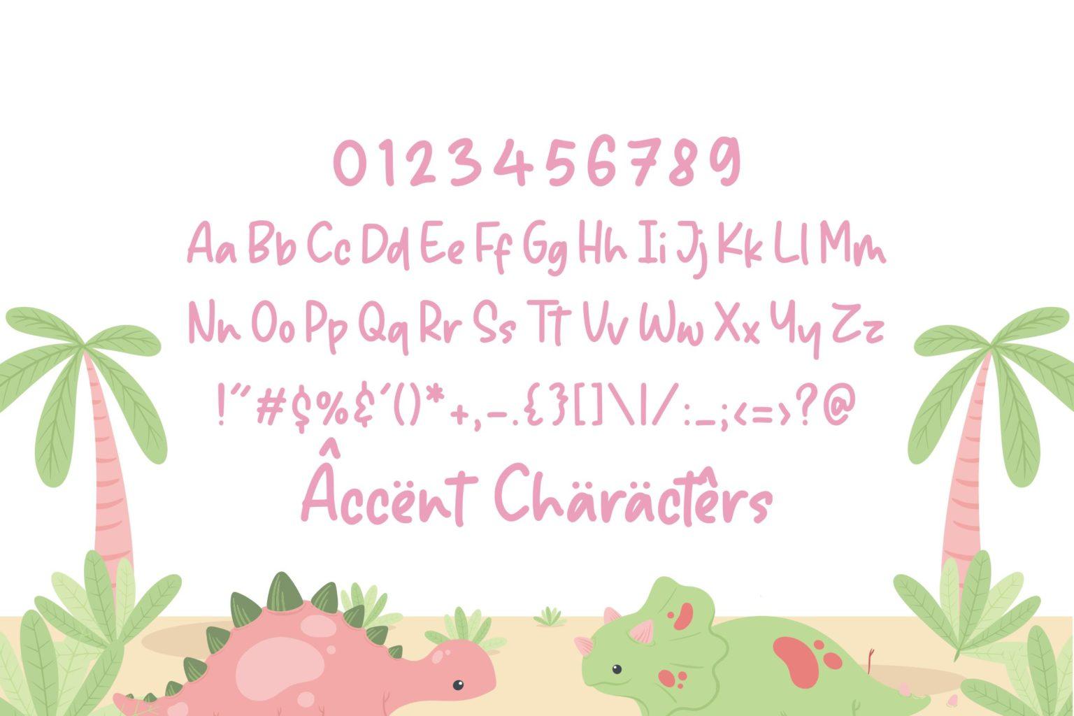 Sparkle Dream Lovely Handdrawn Font-3