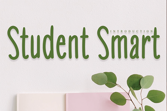 Student Smart Handwritten Font