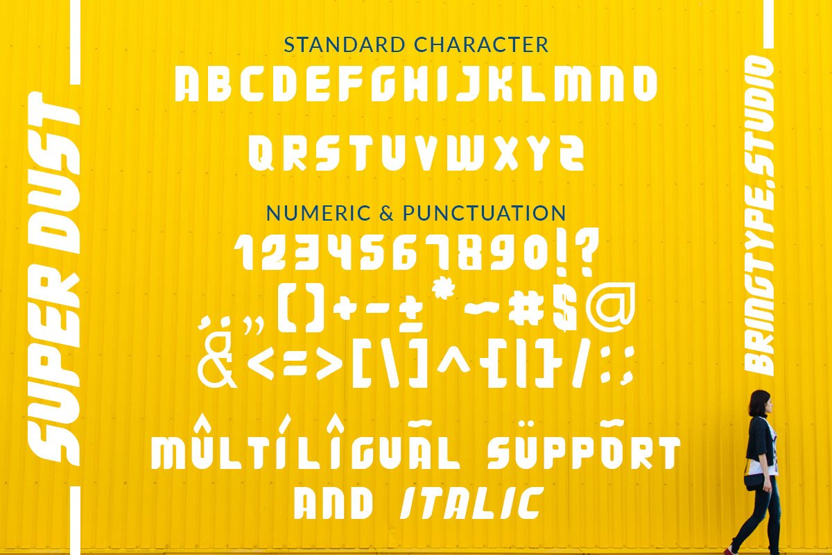 Super Dust Display Font-3