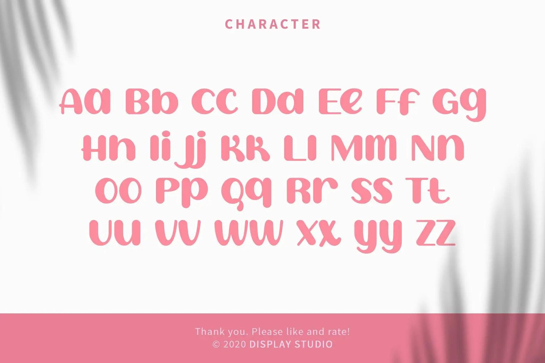 Sweet Creamy Display Font-3