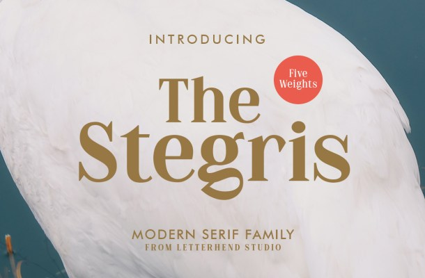 The Stegris Serif Font Family