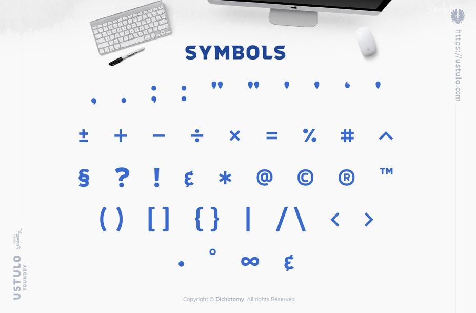 Ustulo Display Typeface-4