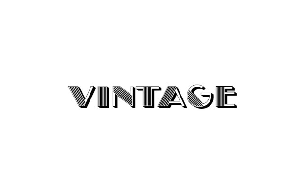 Vintage Fancy Font