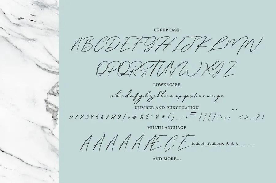 Winterfellia Handwritten Script Font-3